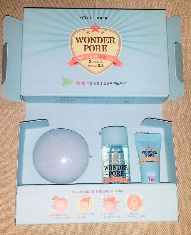 (�������) Tester Etude House Wonder Pore Special Wow Kit